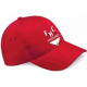 Firebrands Hockey Club Adidas Red Baseball Cap