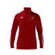 South Lakes Hockey Club Adidas Red Zip Training Top