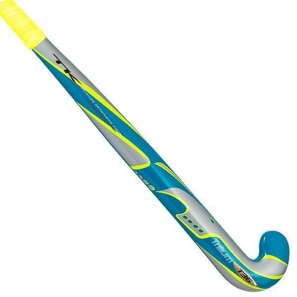 2015/16 TK Trilium Wild Junior Composite Hockey Stick Blue-Silver-Yellow