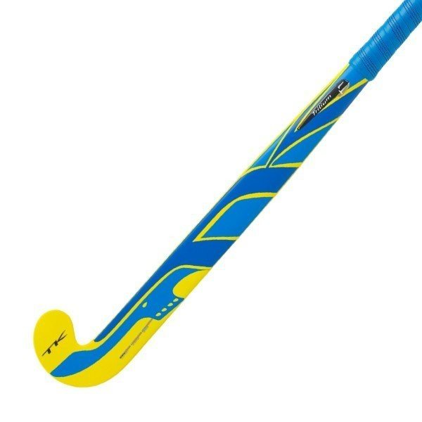 2016/17 TK Trilium T1 Late Bow Hockey Stick - Yellow/Blue