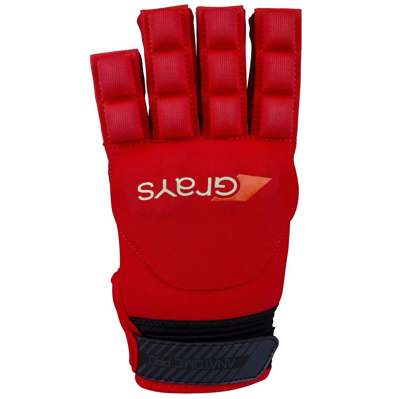Grays Anatomic Pro Hockey Glove - Fluo Red