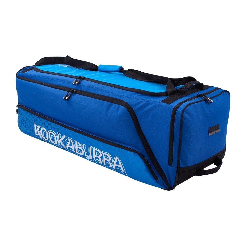 Kookaburra Pro 2.0 Wheelie Cricket Bag - Navy/Cyan