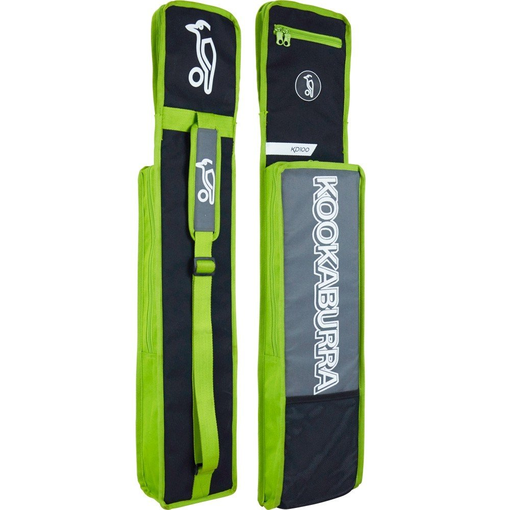 2021 Kookaburra KD 100 Duffle Cricket Bag - Black/Lime