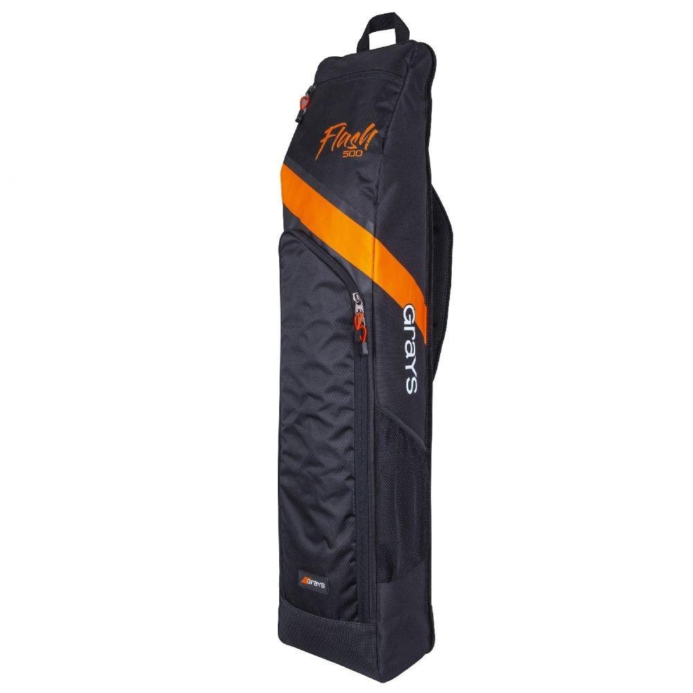 2020/21 Grays Flash 500 Hockey Stick Bag - Black/Orange
