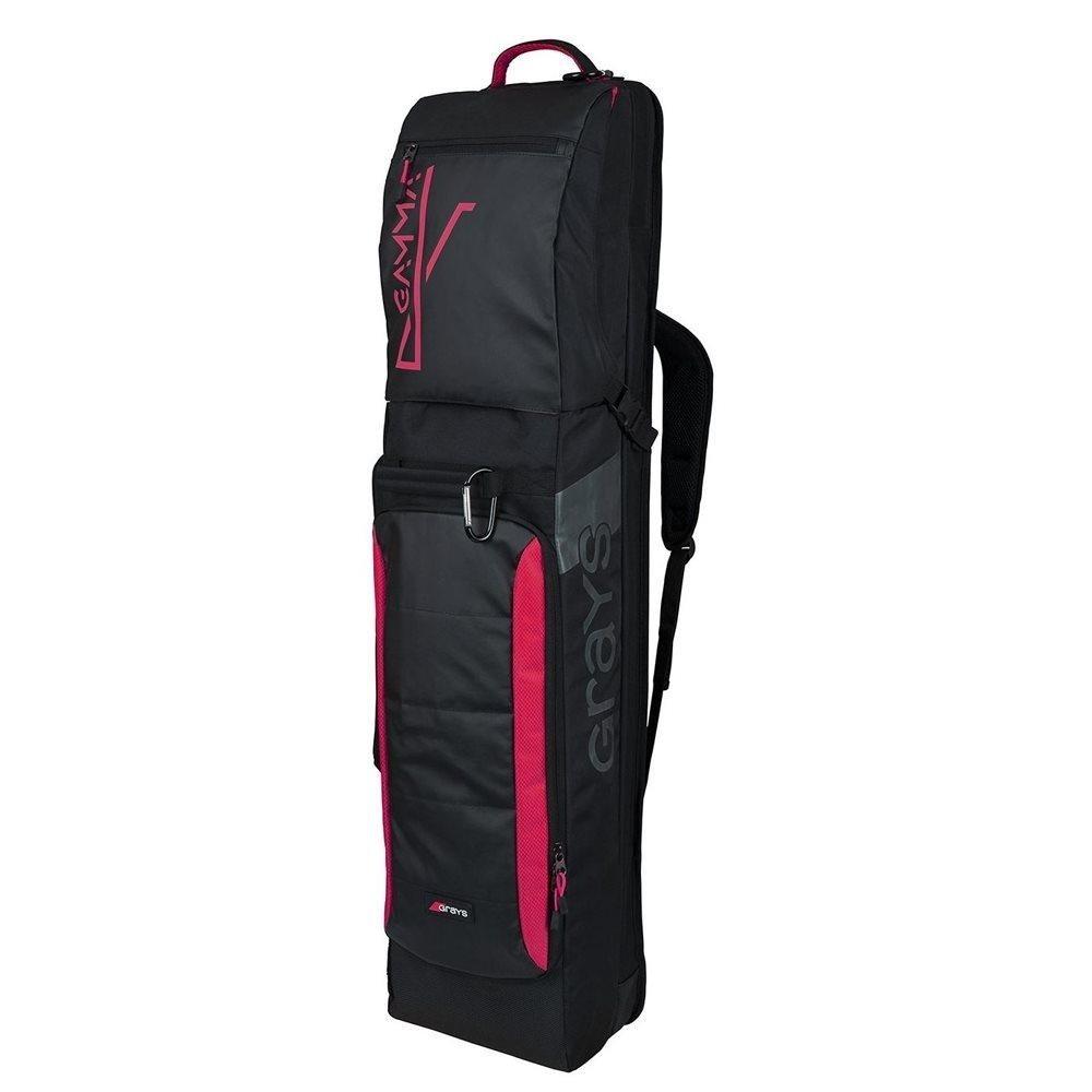 Grays Gamma Hockey Kitbag - Black/Pink