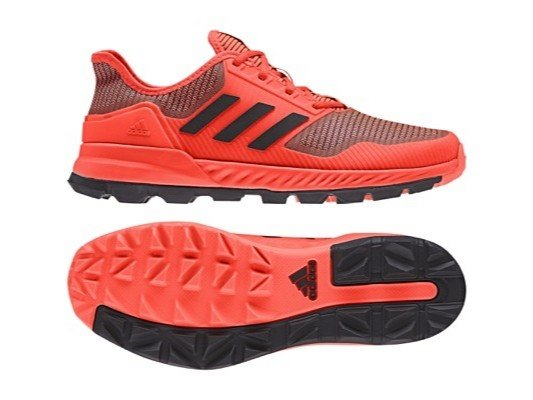 red adidas hockey shoes cheap online