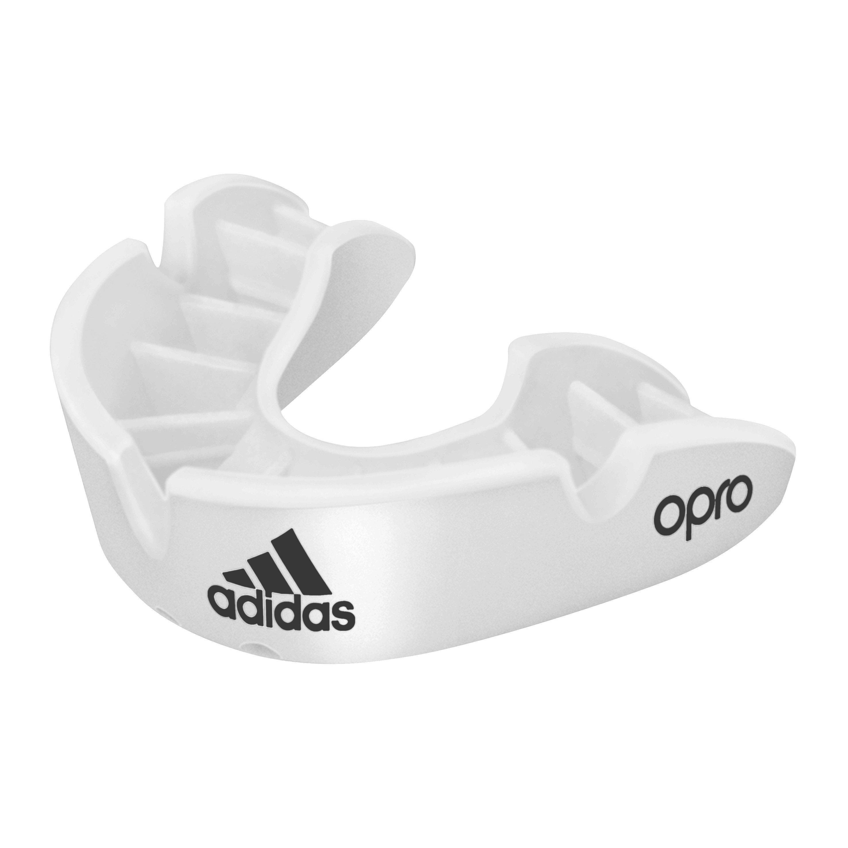 Opro Adidas Mouthguard Bronze Senior - White