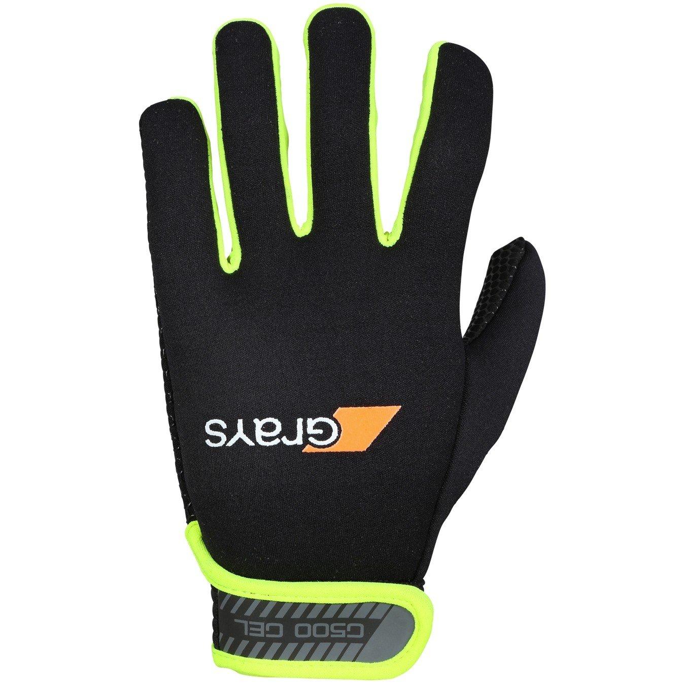 Grays G500 Gel Gloves (Black/Fluo Yellow)