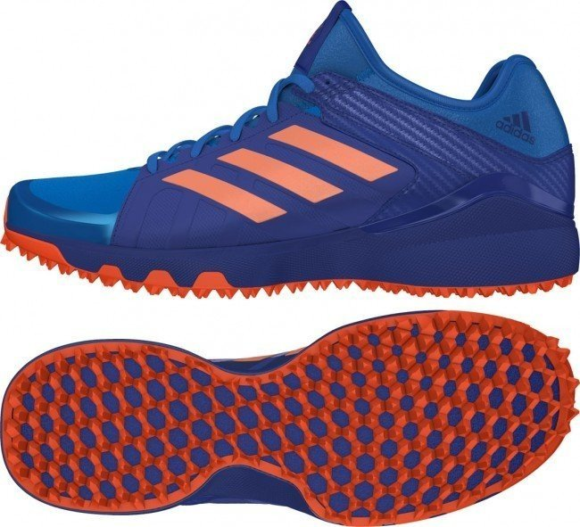 2016/17 Adidas Hockey Lux Hockey Shoes - Shock Blue