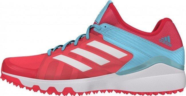 2016/17 Adidas Hockey Lux W Hockey Shoes - Shock Red