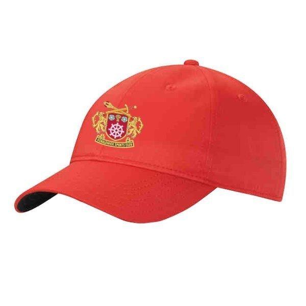 Osbaldwick FC Adidas Red Baseball Cap