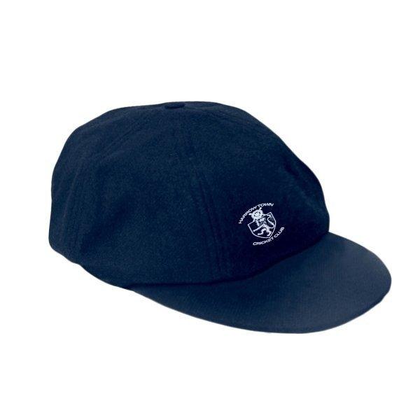 Harrow Town CC Elasticated Navy Baggy Cap