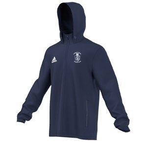 Harrow Town CC Adidas Navy Rain Jacket