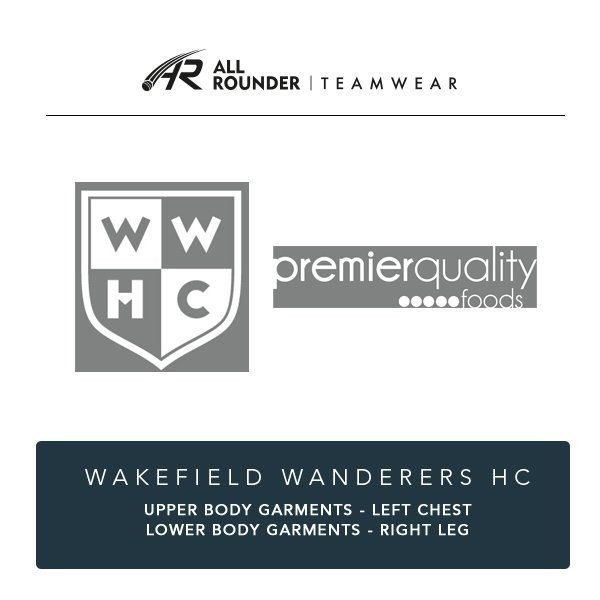 Wakefield Wanderers HC Embroidery Details