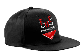 Firebrands Hockey Club Black Snapback Hat