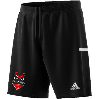 Firebrands Hockey Club Adidas Black Junior Training Shorts
