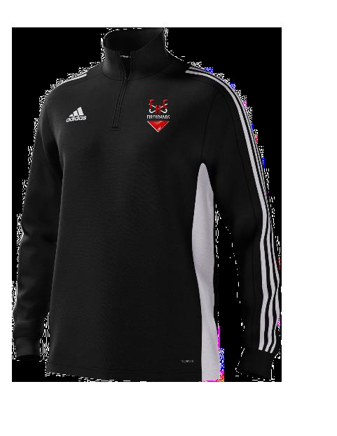 Firebrands Hockey Club Adidas Black Junior Training Top