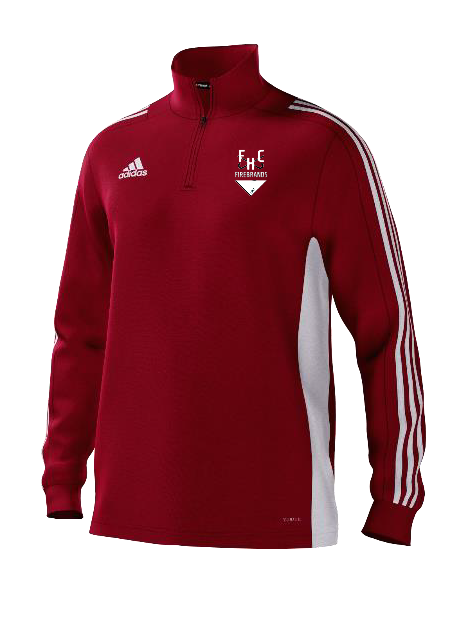 Firebrands Hockey Club Adidas Red Training Top