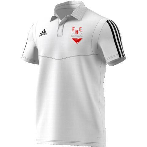 Firebrands Hockey Club Adidas White Polo