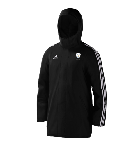 Hampshire Cricket College Black Adidas Stadium Jacket