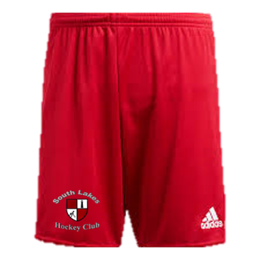 South Lakes Hockey Club Adidas Red Playing Shorts