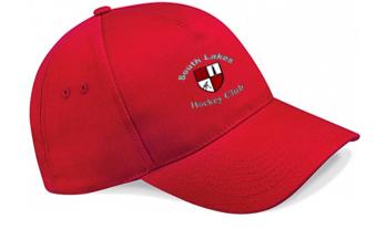 South Lakes Hockey Club Red Baseball Cap