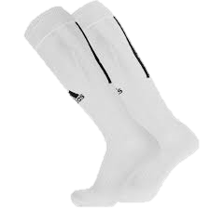 Adidas Santos 18 White Socks