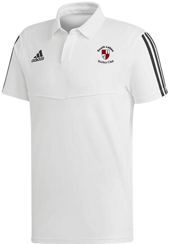 South Lakes Hockey Club Adidas White Polo