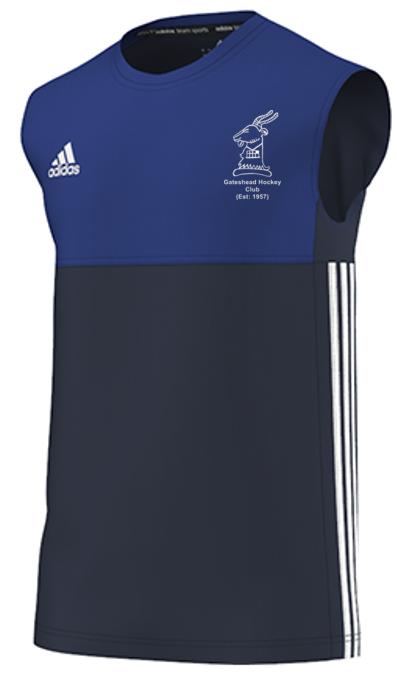 Gateshead Hockey Club Adidas Navy Training Vest