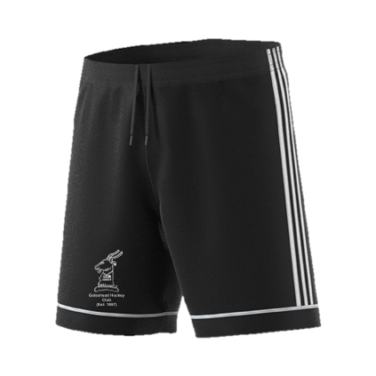 Gateshead Hockey Club Adidas Black Training Shorts