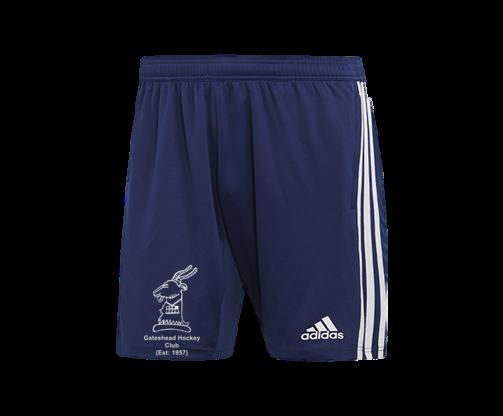 Gateshead Hockey Club Adidas Navy Training Shorts