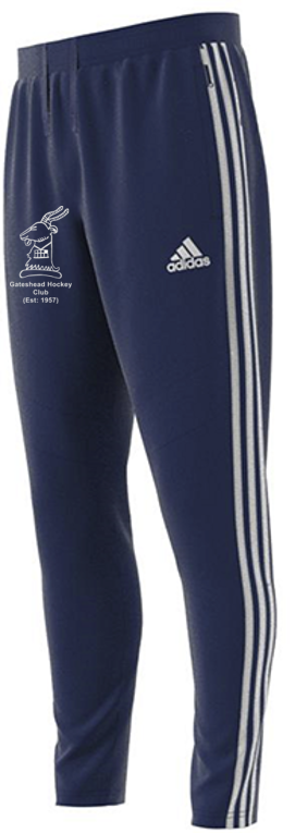 Gateshead Hockey Club Adidas Navy Training Pants