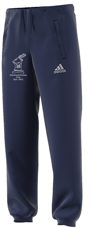 Gateshead Hockey Club Adidas Navy Sweat Pants