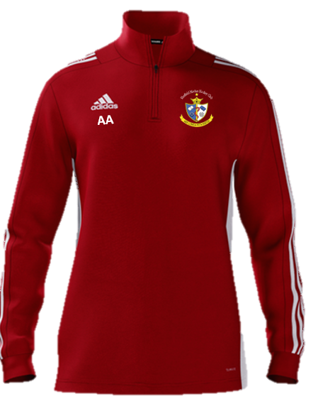 Sheffield Medics HC Adidas Red Zip Training Top