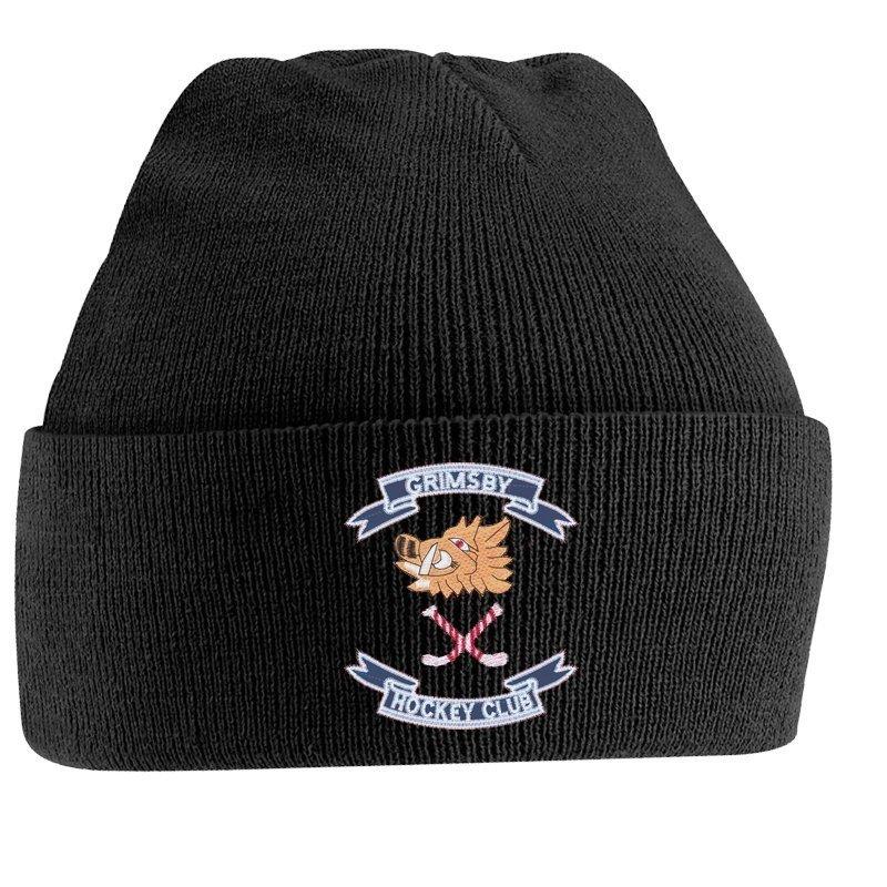 Grimsby HC Black Beanie