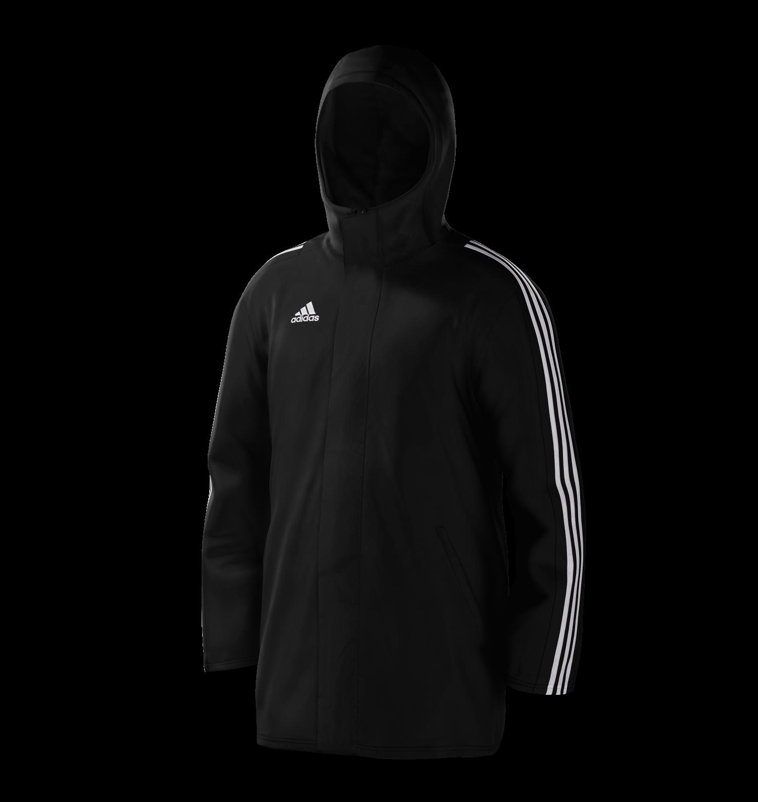 Kirkby Lonsdale Hockey Club Black Adidas Stadium Jacket