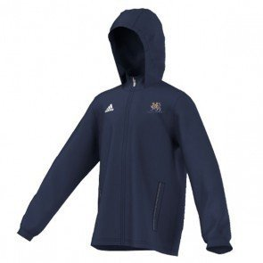 Claygate Adidas Navy Junior Rain Jacket