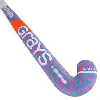2017/18 Grays GX 2500 Ultrabow (Purple / Sky) Hockey Stick