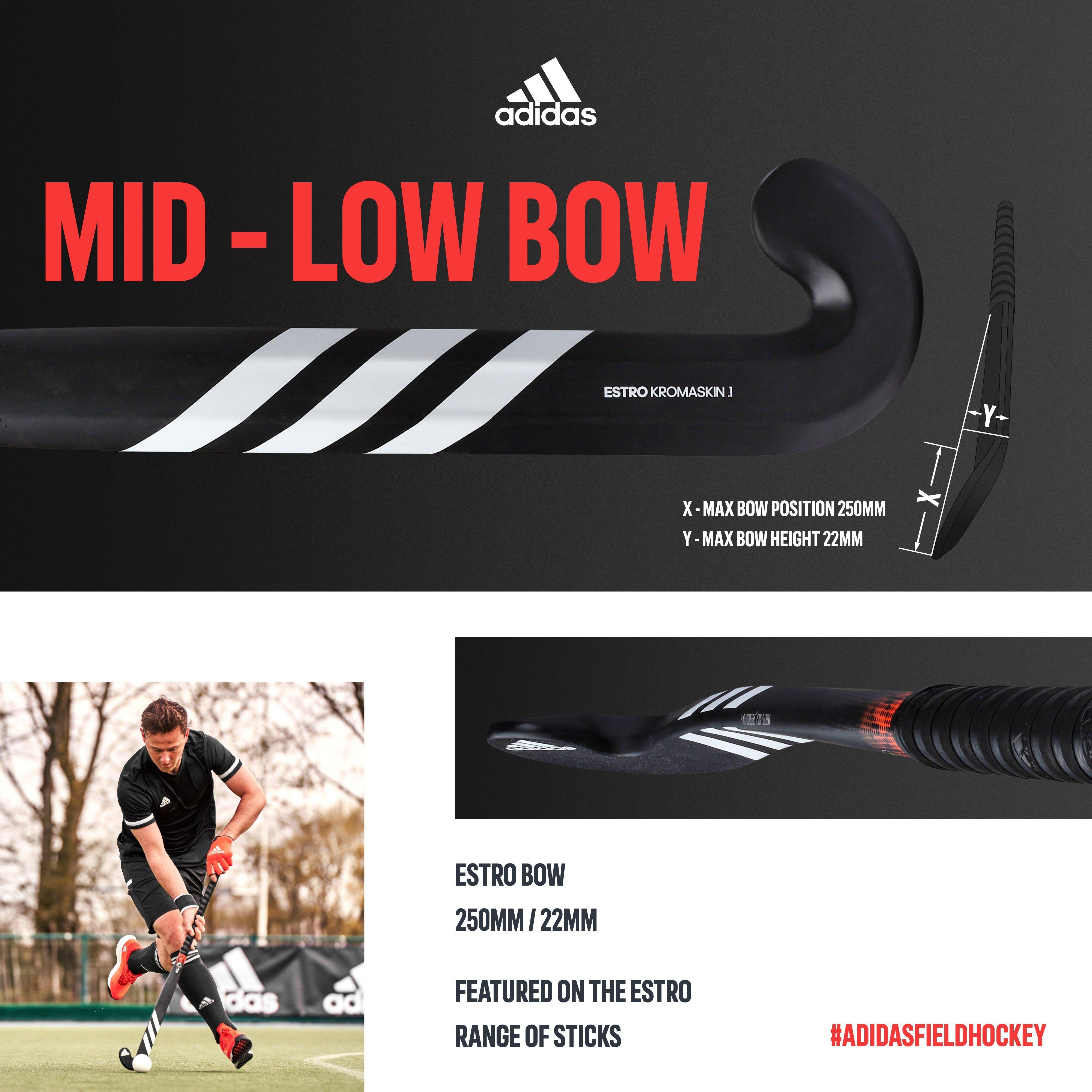 Adidas Estro .7 Hockey Stick Bow