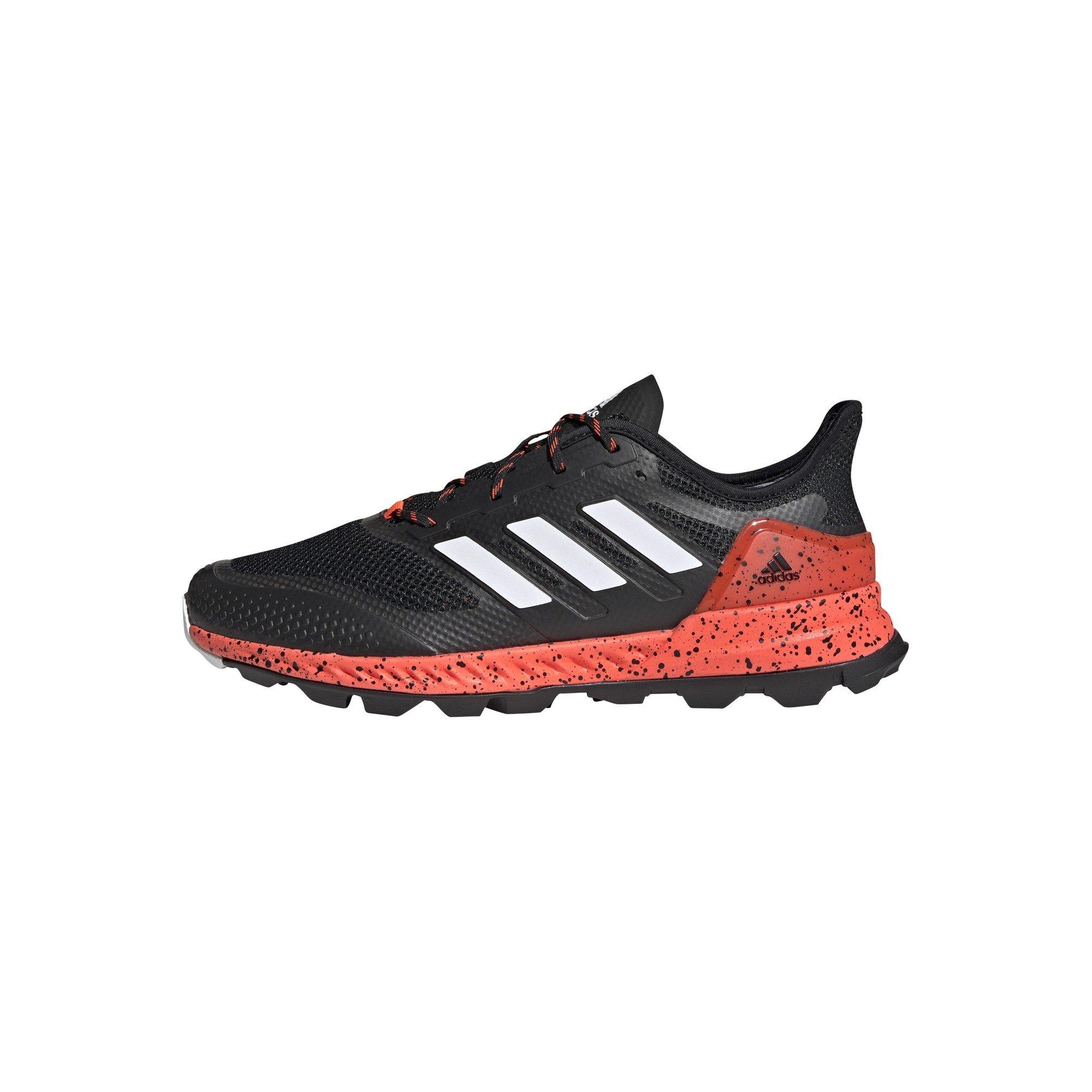 2021/22 Adidas Adipower 2.1 Hockey Shoes - Black/White