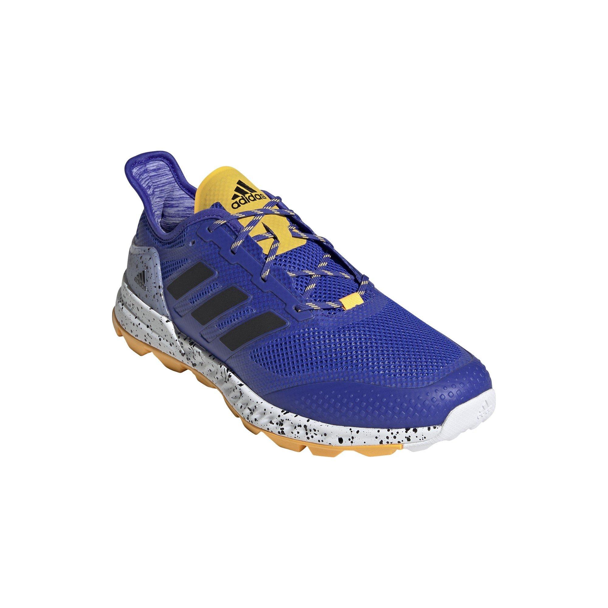 Adidas Adipower 2.1 Hockey Shoes - Blue/White/Yellow