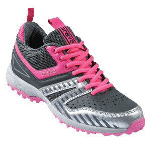 Grays G5000 Ladies Hockey Shoes Grey/Pink