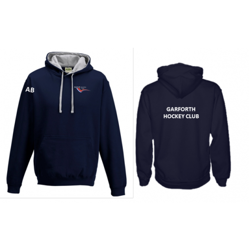 Garforth HC Hoody (GARFORTH HC PRINTED ON BACK & INITIALS)