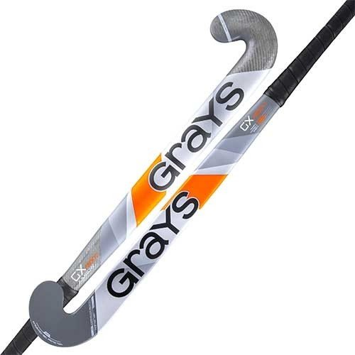 2020/21 Grays GX 3000 Ultrabow Hockey Stick - Grey - 37.5 Light