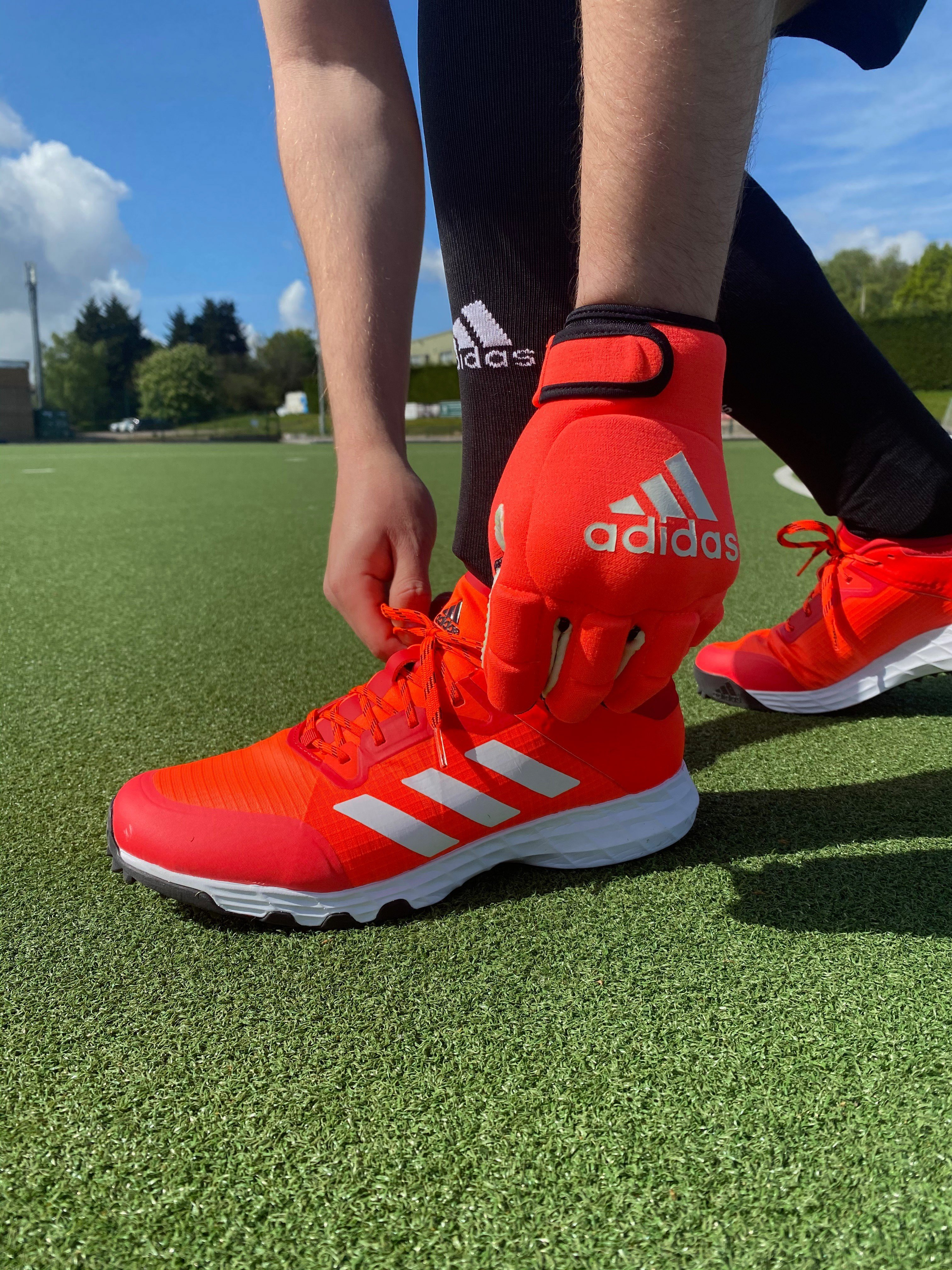 Adidas Lux 2.0 Hockey Shoes - Red/White