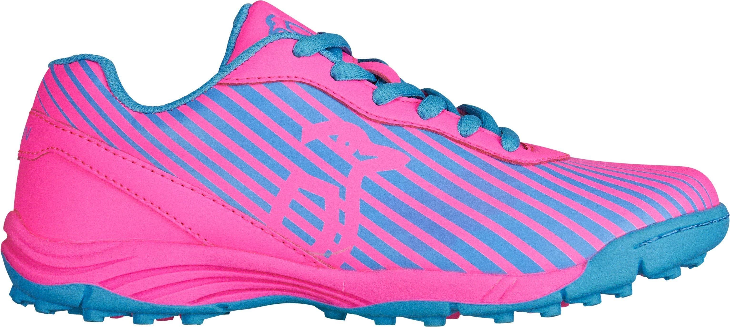 2017/18 Kookaburra Neon Sherbert Pink/Ceramic Blue Hockey Shoes