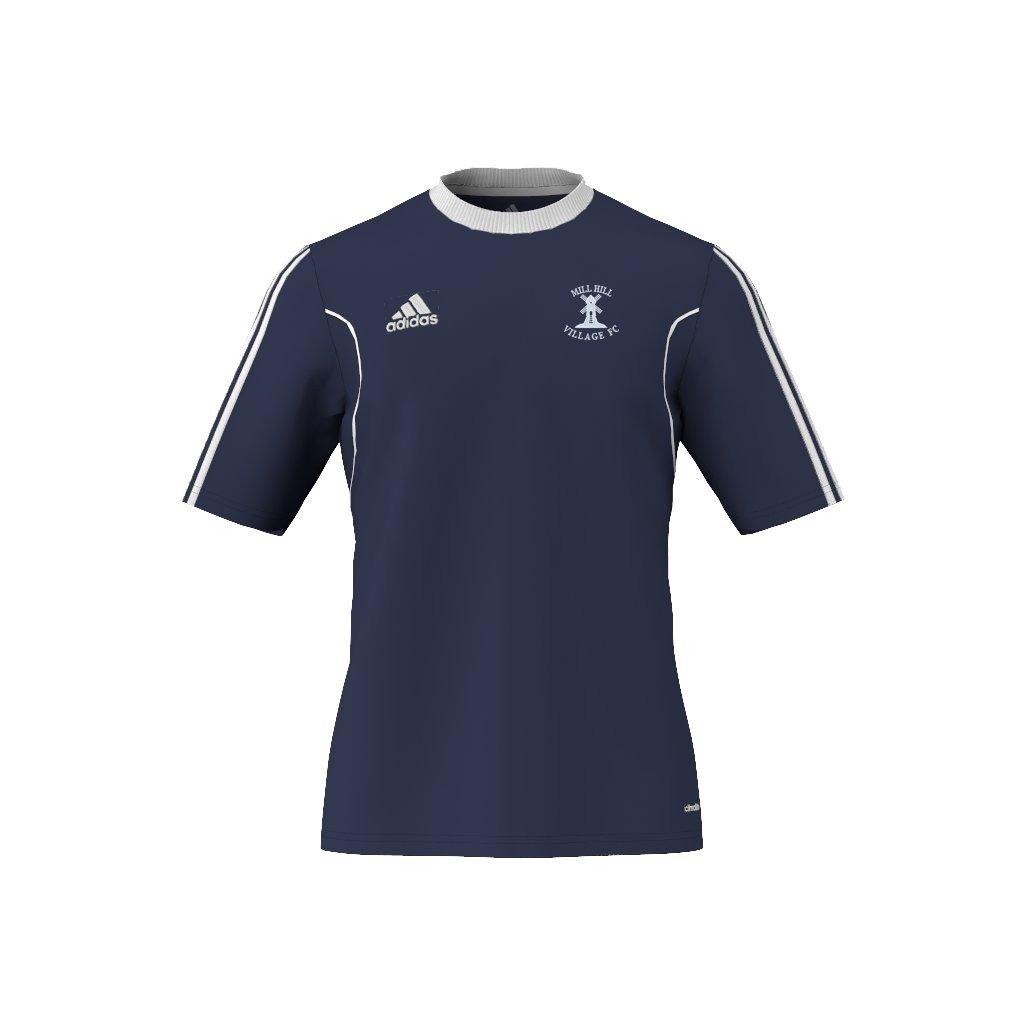 Mill Hill Village FC Adidas Navy Training Jersey