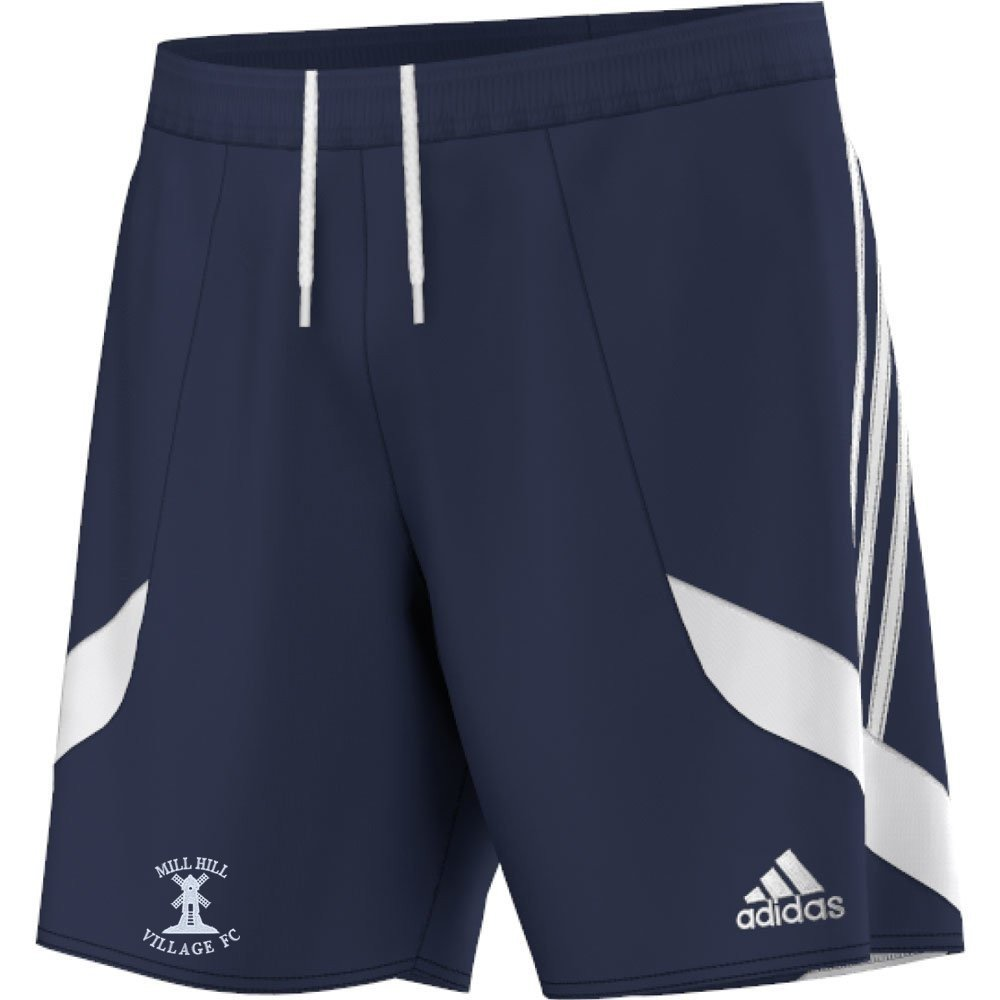 Mill Hill Village FC Adidas Navy Training Shorts