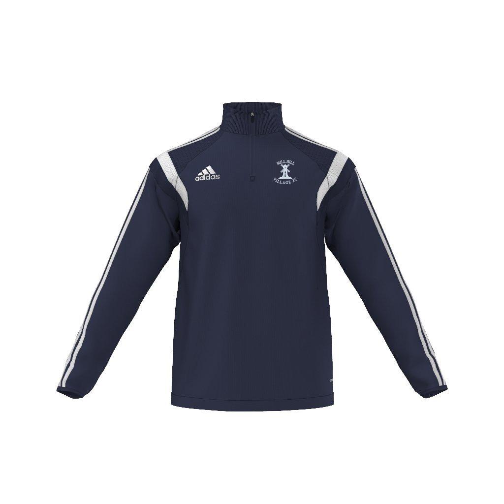 Mill Hill Village FC Adidas Navy Training Top
