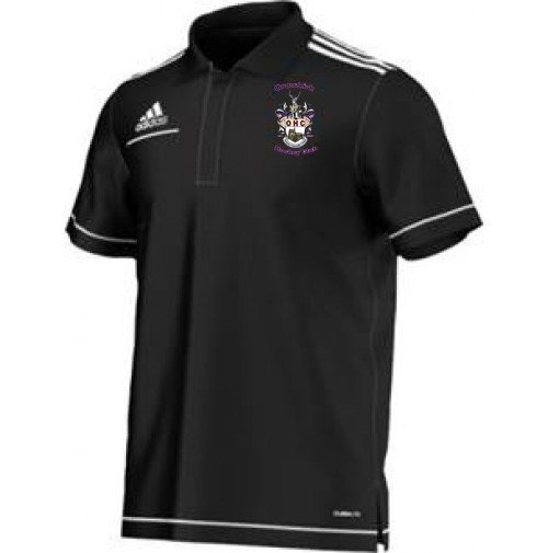 Ormskirk Hockey Club Adidas Black Polo Shirt